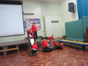 Water safety role play