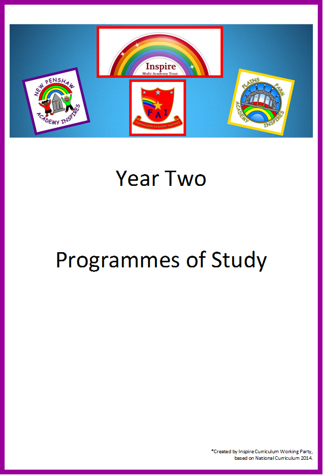 Year 2 Programme of study